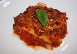Lasagne Serviervorschlag