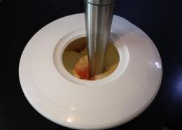 Quarkcreme mit Erdbeeren Zubereitung Schritt 2