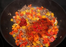 Chili con Carne Zubereitung Schritt 2