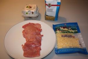 Zutaten Piccata milanese