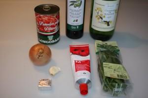 Zutaten Tomatensauce