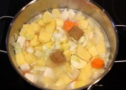 Kartoffelsuppe Zubereitung Schritt 2