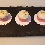Mini Muffins mit weisser Schokolade