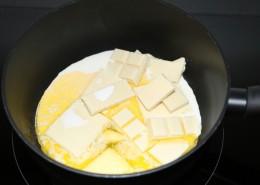 Weisse Mini Muffins Zubereitung Schritt 1