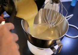 Weisse Mini Muffins Zubereitung Schritt 3