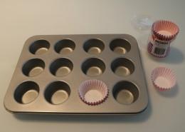 Weisse Mini Muffins Zubereitung Schritt 6