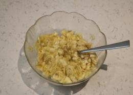Bananen Nuss Cake Zubereitung Schritt 3