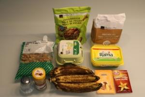 Zutaten Bananen Nuss Cake